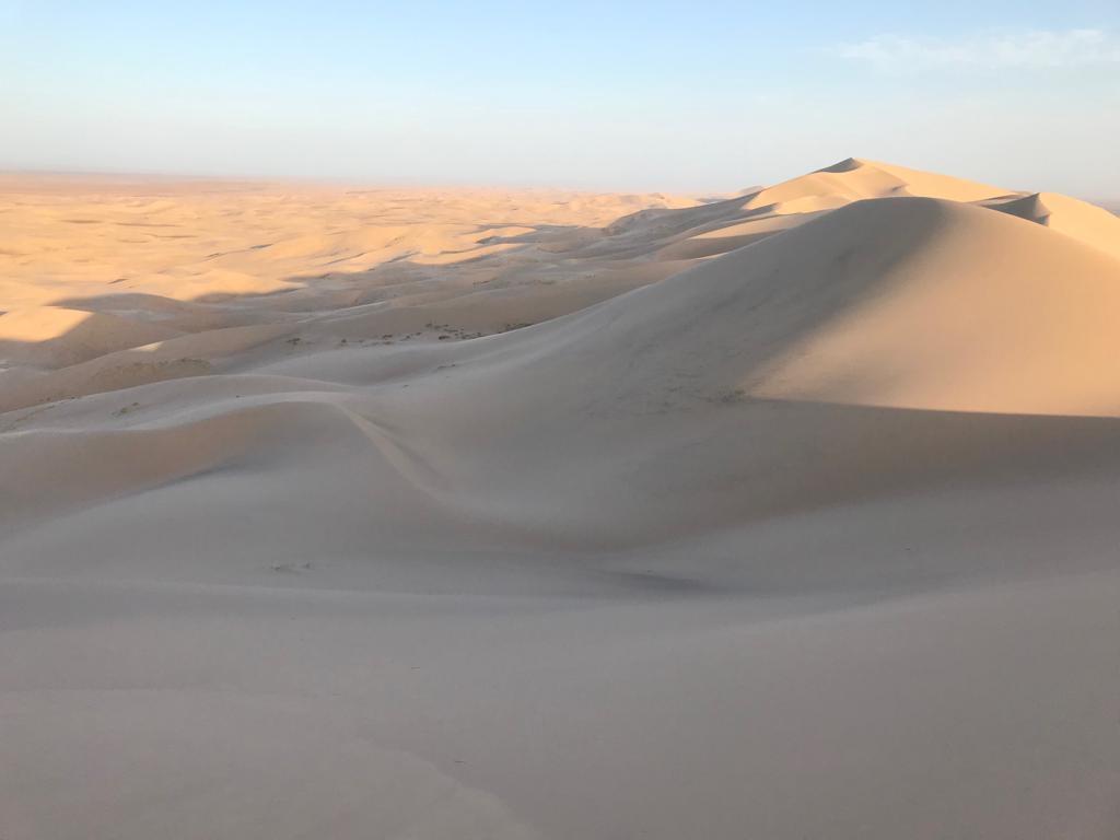Sonnenaufgang Wüste Gobi